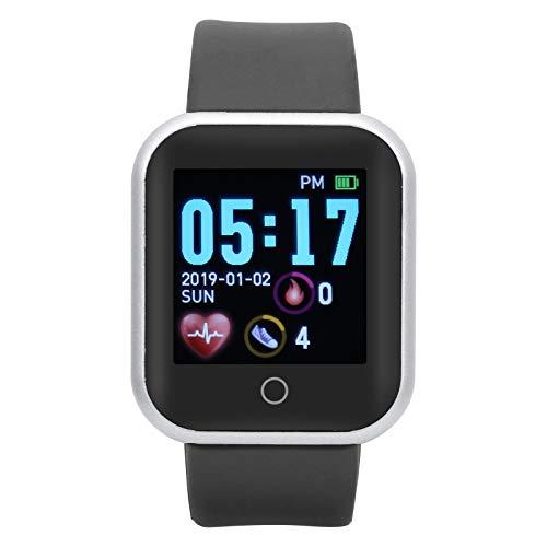 Reloj Inteligente deportivo Smartwatch Pulsera Deportiva Inteligente Con Monitor De Actividad De Frecuencia Cardíaca, Alerta De Mensajes, Calorías, Podómetro, Cronómetro, Reloj Multifunción Para Ejerc