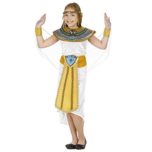 Fun Shack Blanca Reina Egipcia Disfraz para Niñas - M