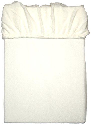 Mesana C-10001/23 Lenzuolo in Microfibra di Pile con Angoli Elasticizzati, Bianco, 180-200 x 200 cm