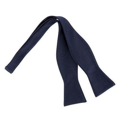 CravateSlim Noeud Papillon à Nouer Bleu marine Premium - Noeud Papillon Homme Mariage et Cérémonie Bleu navy - A nouer soi-même