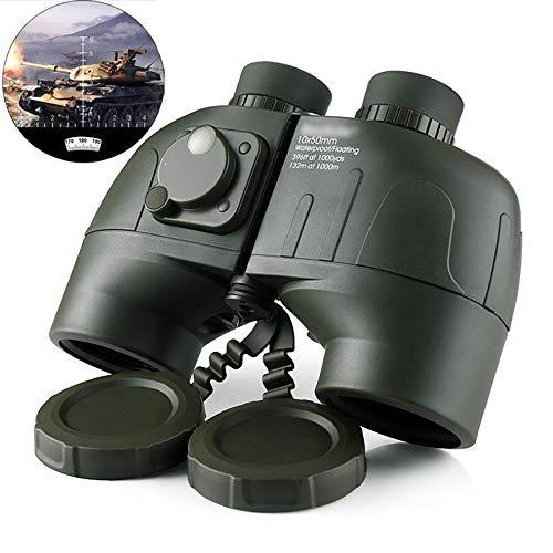 DOTXX Hohe Leistung 10X50 Entfernungsmesser Kompass Fernglas Professionelle wasserdichte Taktische Nachtsicht