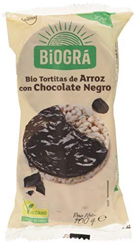 Biográ Torta De Arroz Con Chocolate Negro 100G Biográ 300 g