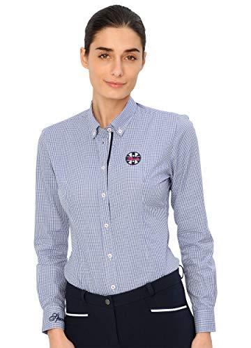 SPOOKS Bluse für Damen Mädchen Kinder, Langarm - Nora Blouse Blue m