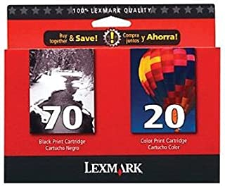 Lexmark 15M2328 70/20 Twin Pack of Ink Cartridges