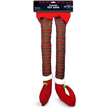 hanging elf legs