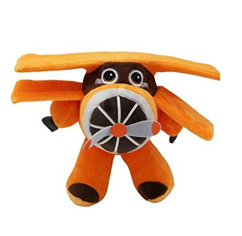 Dirgee SüßPlush Spielzeug, Super Wings Cartoon-Figur Plüschpuppen ausgestopfte Spielwaren Weihnachten Halloween-Geburtstags-Party-Geschenk 22cm