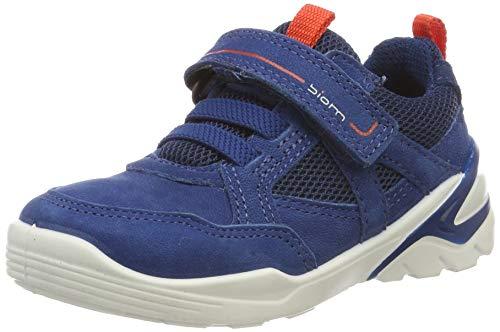 ECCO Jungen Biom VOJAGE Sneaker, Blau (Poseidon/Fire 51290), 39 EU