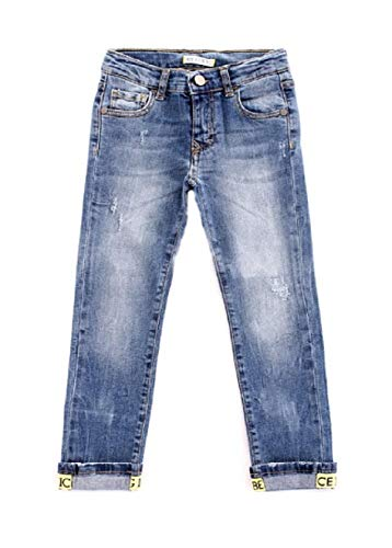 Iceberg Jeans Bimbo PTICE2109B blu chiaro Con risvolti PE20 18M