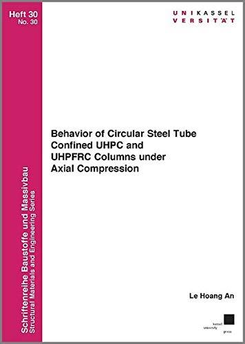 Behavior of Circular Steel Tube Confined UHPC and UHPFRC Columns under Axial Compression (Schriftenreihe Baustoffe und Massivbau)