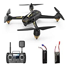1080P HD Camera: Built in 1080P HD camera to capture high quality pictures and videos. With Brushess motor; Max flight time: approximately 20 minutes; Max flight range: 400 meters. 5.8G FPV Live Video: Has a 4.3 inch LCD screen on the controller that...
