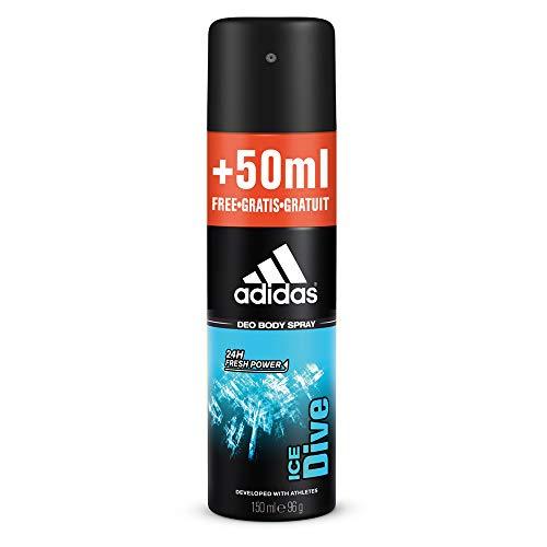 Adidas Ice Dive Desodorante para Hombre - 200 ml.