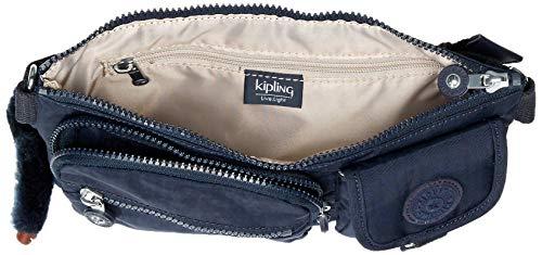 Kipling Women's Presto Convertible Waist Pack, Multi Pocket, Zip Closure, True Blue Tonal, One Size