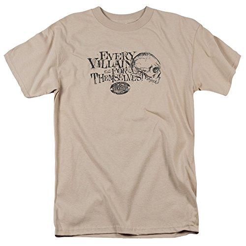 Trevco Survivor Tv Series Camiseta de manga corta para hombre -  Beige -  XX-Large