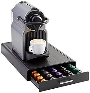 AmazonBasics - Cajón para almacenar cápsulas de Nespresso (capacidad para 50 cápsulas)