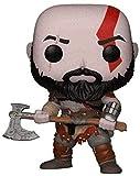 Little Boy Funko Pop God of War Kratos Toy PVC Figuras de acción Muñecas de Vinilo Modelo Juguetes p...
