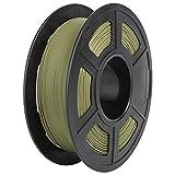 Matte PLA Filament, PRINSFIL Filament 1.75 mm PLA, Filament-3D-Druckmaterialien, 1 kg 1 Spool, Matte Army Green