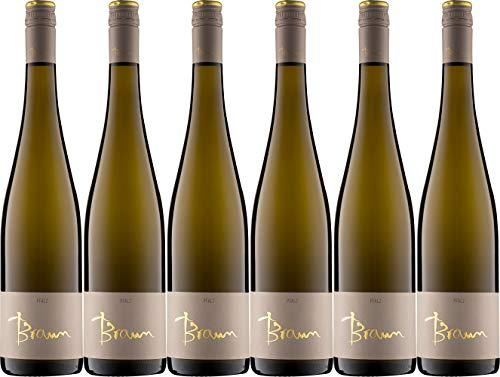 Wein- und Sektgut Braun Meckenheimer Neuberg Grauburgunder 2018 Trocken (6 x 0.75 l)
