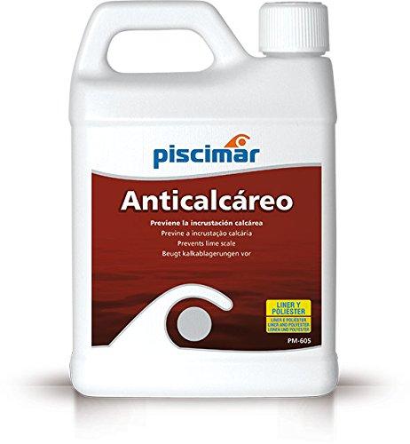 PM-605 Anticalcáreo para Piscinas Biodegradable. Botella 1.2 kg.