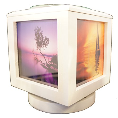Memory Box Picture Frame Oil Burner Combo