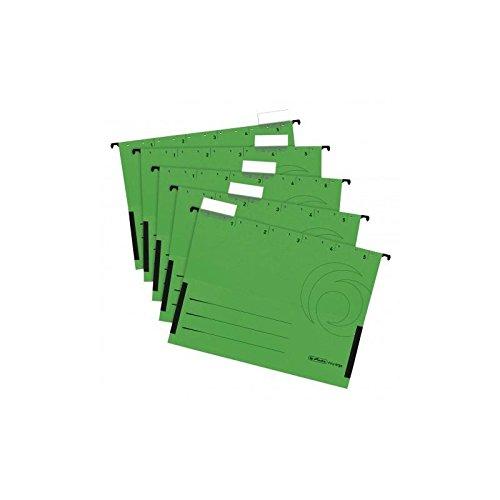 Herlitz 5874789 Hängetasche grün 5er Packung