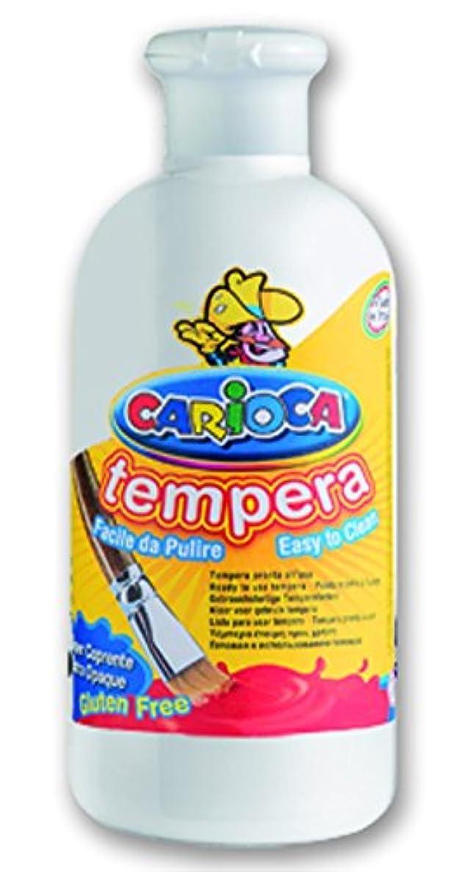 CA-RIO-CA Carioca?–?Tempera Paint 500?ml Bottle, White (ko027/01)