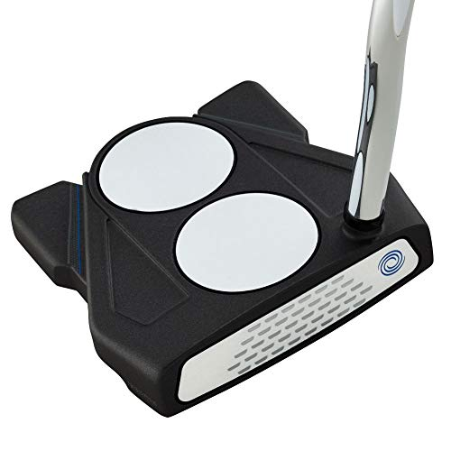 "Callaway Odyssey Golf 2021 Ten Putter (Right-Handed, 2 Ball, Oversized Grip, 35"") , Black"