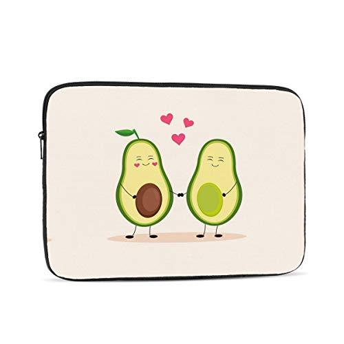 KXT Avocado Love Laptop Sleeve,Carrying Bag Chromebook Case Notebook Bag Tablet Cover