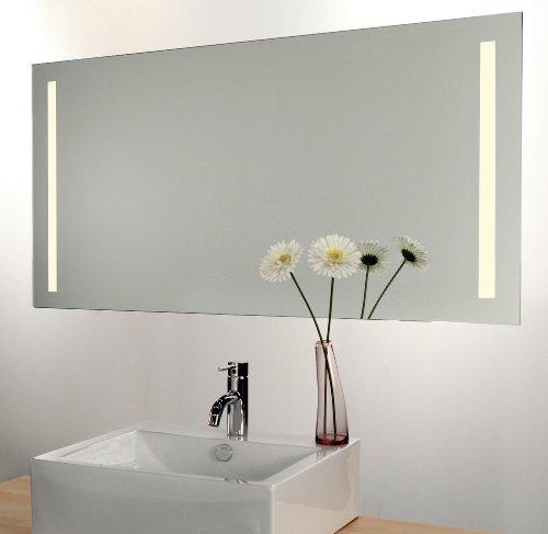 Schaere Bad Spiegel mit LED Beleuchtung, Sensor und Heizfolie 80 x 60 cm