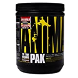 Animal Pak - The Complete All-in-one Training Pack - Multivitamin for Men, Amino Acids, Performance Complex, Zinc and More - For Elite Athletes and Bodybuilders - Orange - 44 Scoops