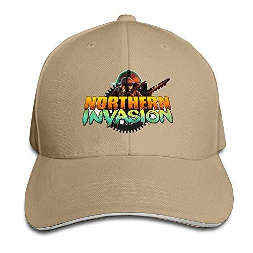 II Northern Invasion Announcement Logo Sports Hat Sandwich Bill Caps Sombreros y Gorras