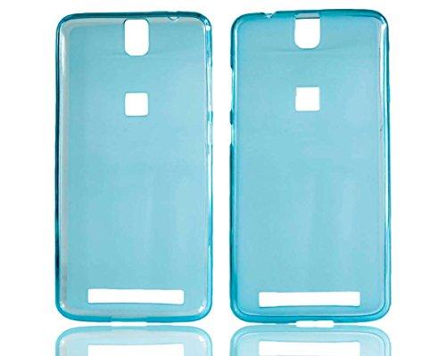 caseroxx TPU-Hülle für Elephone P8000, Handy Hülle Tasche (TPU-Hülle in blau)