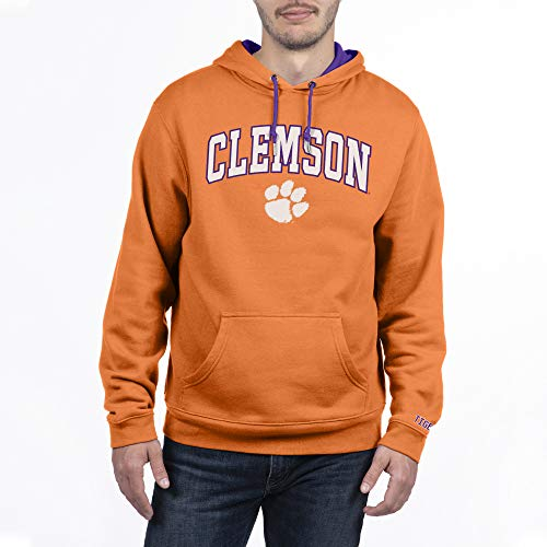 Top of the World Clemson Tigers Men's Team Applique Arch Hoodie Sweatshirt, X-Large