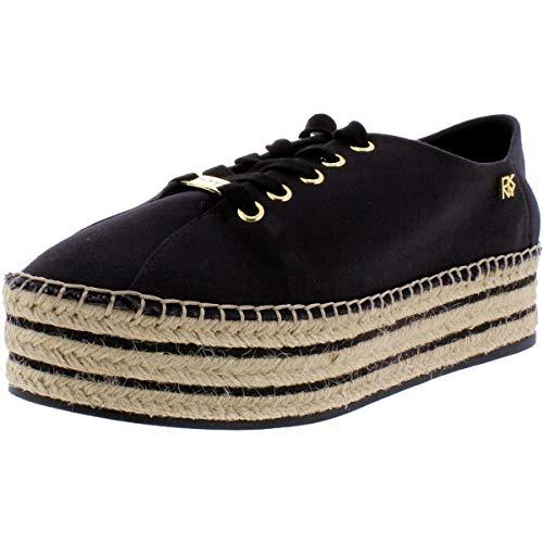 DKNY Frauen Adrian Fashion Sneaker Schwarz Groesse 6 US /37 EU
