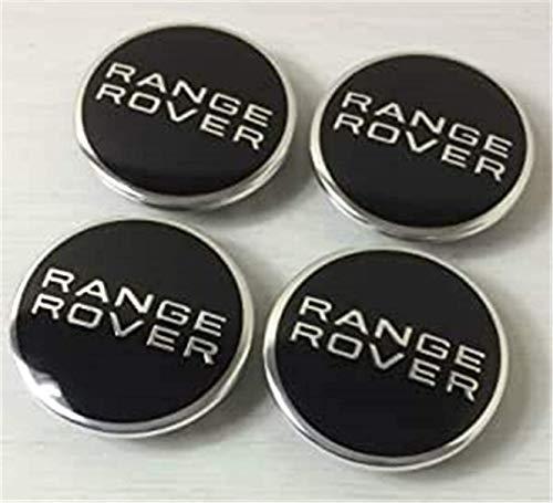 4 Stück Auto Nabenkappen Nabendeckel Felgendeckel Radkappen for Range Rover,Radnabendeckel Radnaben Abdeckung Verzierung,Radnabenabdeckung,Wheel Centre Hub Caps,(63mm)