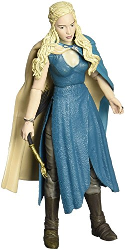 Funko 4213 - Figura de accion Daenerys Targaryen, Juego De Tronos - Figura Daenerys Vestido Azul 15 cm