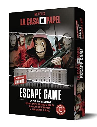 La Casa de Papel. Escape Game. Objetivo:...