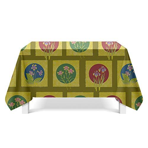DREAMING-Muster Textur Stoff Tischdecke Home Tischdecke Tv-Schrank Couchtisch Stoff Runde Tisch Tischset 140cm*220cm