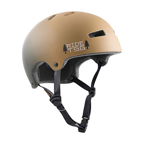 TSG Superlight Graphic Design Helm Marsh beige Kopfumfang S/M | 54-56cm 2020 Fahrradhelm