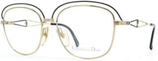Christian 2461 49 Black Authentic Women Vintage Eyeglasses Frame