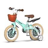 YSA Bicicleta para niños Bicicleta de 12 Pulgadas para niños Aprender a Andar en Bicicleta Bicicleta para niños y niñas 2-4 años con Campanas Bicicleta