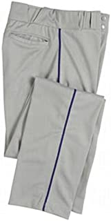 CHAMPRO Men's Sports Pro-Plus Open Bottom Pants with Piping