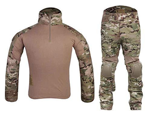 Paintball Equipment Tactical bdu Emerson Gen2 Combat Uniform Multicam MC (M)