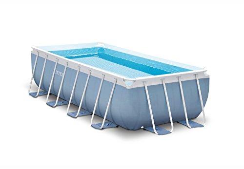 Intex 16ft X 8ft X 42in Rectangular Prism Frame Pool Set