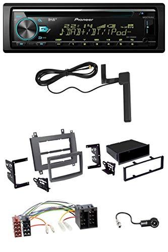 caraudio24 Pioneer DEH-X7800DAB CD MP3 AUX DAB USB Autoradio für Cadillac Cts 2003-2006 SRX 2004-2005