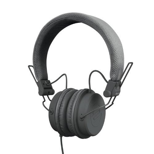 Reloop RHP-6 – DJ- und Lifestyle-Kopfhörer mit abgestimmten Sound, leichte Bauweise und sichere Passform, für Smartphones (Apple iPhone, Android) Tablets, iPods, Mac und PC, grau