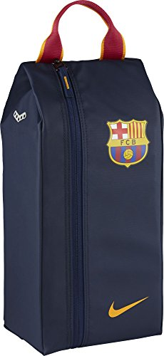 NIKE Allegiance FC Barcelona Shoe Bag Zapatillero, Hombre, Azul (Midnight Navy/University Gold), Talla Única