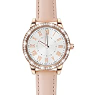 Good quality movement and battery: this ladies watch features a Japanese quartz movement for precise and water resistant measurement. Adjustable pink 20mm genuine leather strap l with full Arabic numerals Water resistant to 30m (100ft): in general, w...