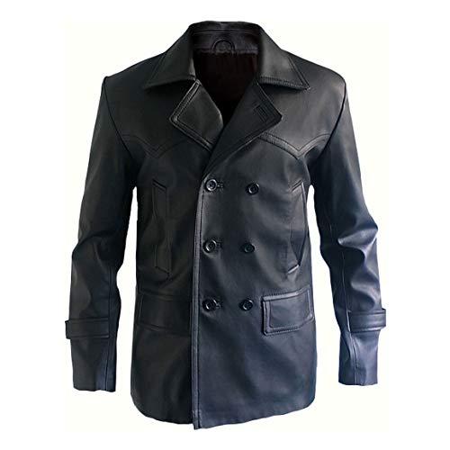 Style Up Ltd Noveno Doctor Who 9th Christopher Eccleston Disfraz Casual Blazer Wear Chaqueta de piel sinttica