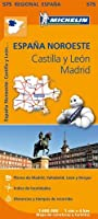 Castilla y Leon, Madrid - Michelin Regional Map 575: Map (Michelin Regional Maps)