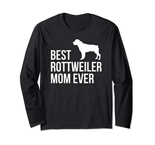 Best Rottweiler Mom Girls Women Rottie Gift Langarmshirt